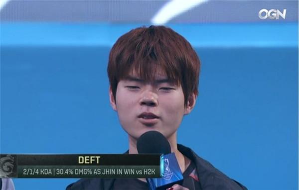DEFT:来到S6很有信心 这一次应该也可以在美国拿冠军