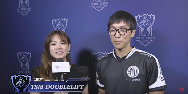 Doublelift谈总决赛:我们打进决赛的机会非常大